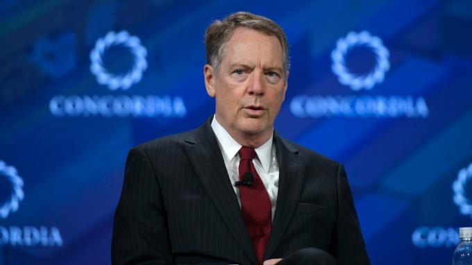 萊特海澤表示美國擬取消加墨鋼鋁關稅。(圖:AFP)