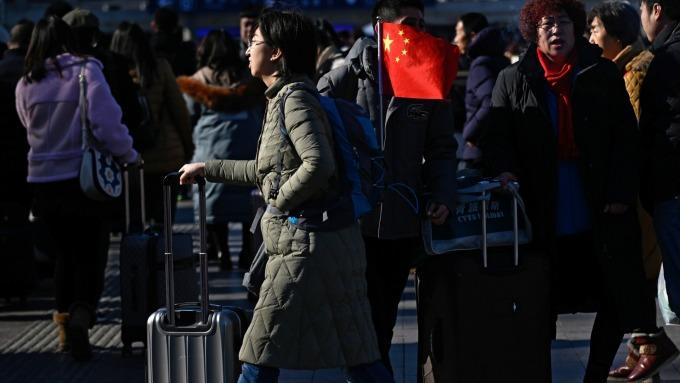 中國經濟成長趨緩,已對勞動市場造成影響。(圖:AFP)