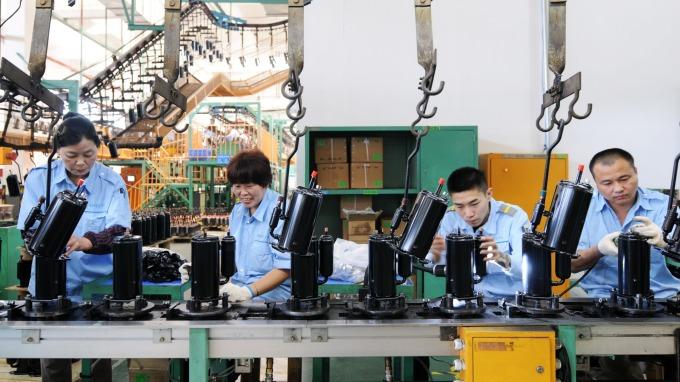 中國失業率創兩年新高。(圖:AFP)