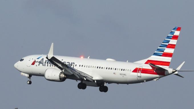 圖:AFP  波音737 MAX型客機