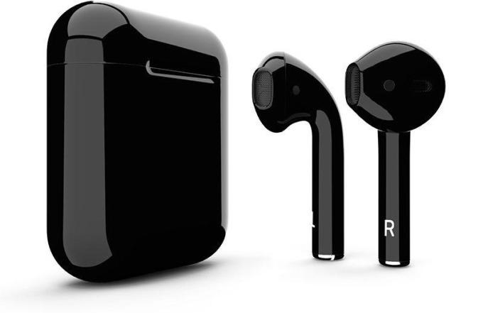 蘋果傳將推黑色款 AirPods 2。(圖:翻攝自 Macrumors)