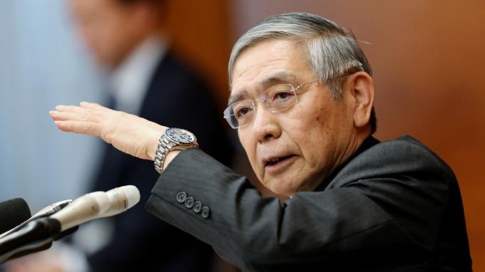 黑田東彥(圖:AFP)