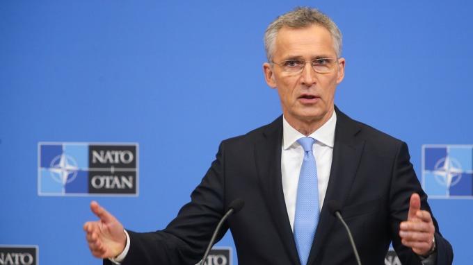 北約秘書長Jens Stoltenberg。(圖:AFP)