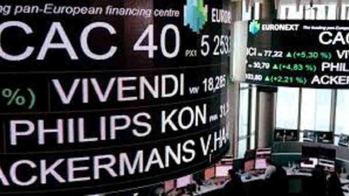 歐股波段反彈,市值增加逾1兆美元。(圖:AFP)