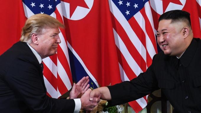 「川金二會」以破局告終。(圖:AFP)