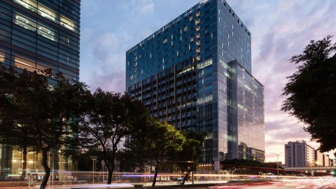 台北國泰萬怡酒店。(圖:業者提供)