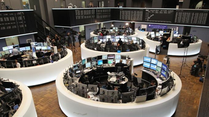 圖:AFP  法蘭克福交易所
