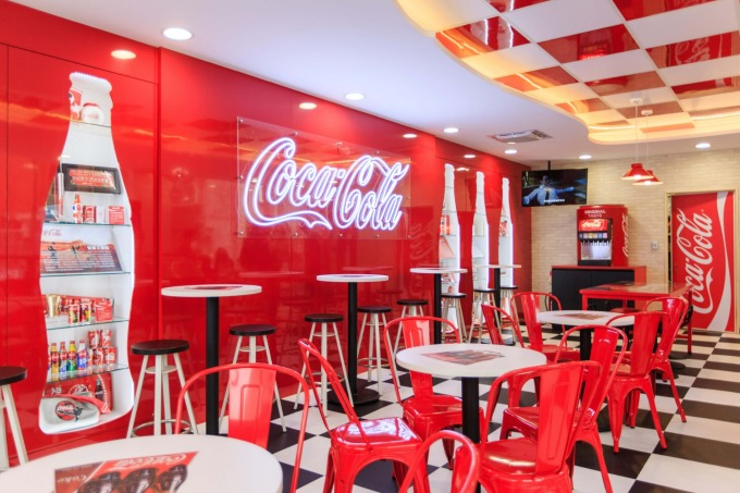 7-11與可口可樂推出的品牌複合店。(圖:統一超提供)