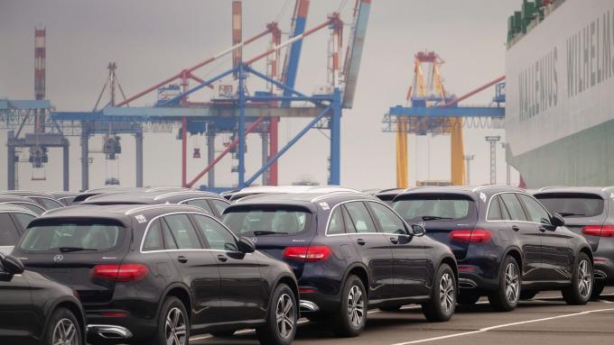 德國汽車工業有所復甦(圖:AFP)