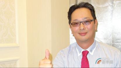 廣運集團執行長謝明凱。(鉅亨網記者張欽發攝)