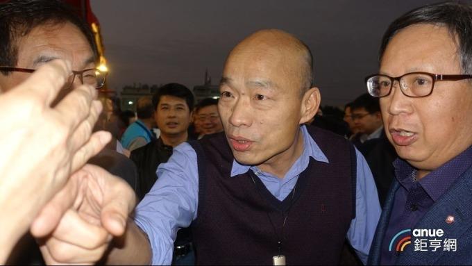 高雄市長韓國瑜。(鉅亨網記者張欽發攝)