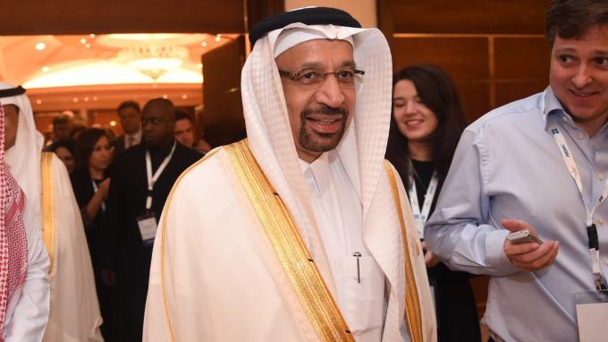 沙烏地阿拉伯能源部長Khalid Al-Falih。(圖:AFP)