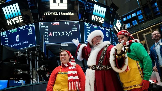 自聖誕節以來股市飆升,但似乎有可能重現 1937 魔咒。(圖:AFP)