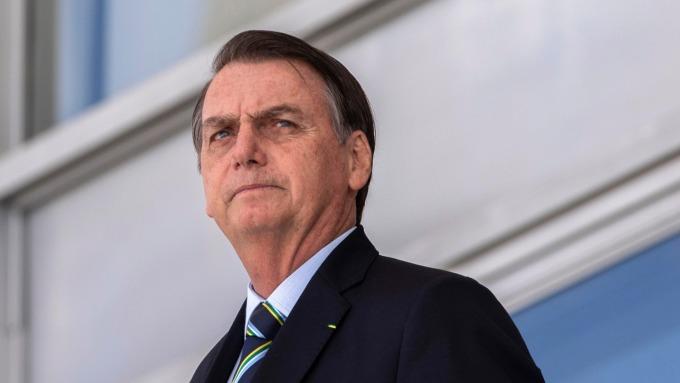 有「巴西川普」之稱的巴西總統波索納洛。 (圖:AFP)