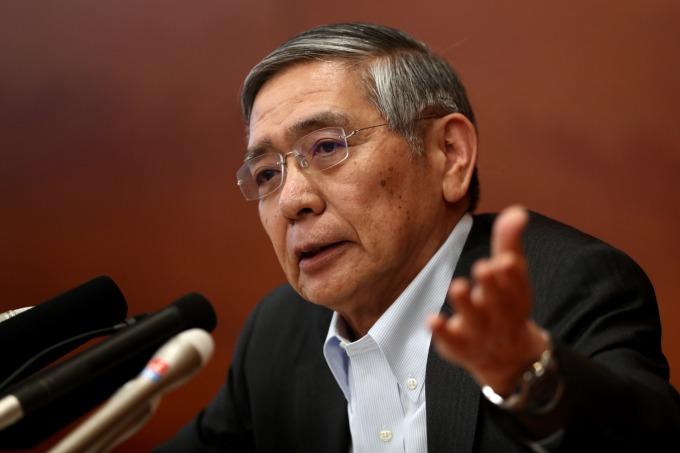 日本央行總裁黑田東彥 (圖:AFP)