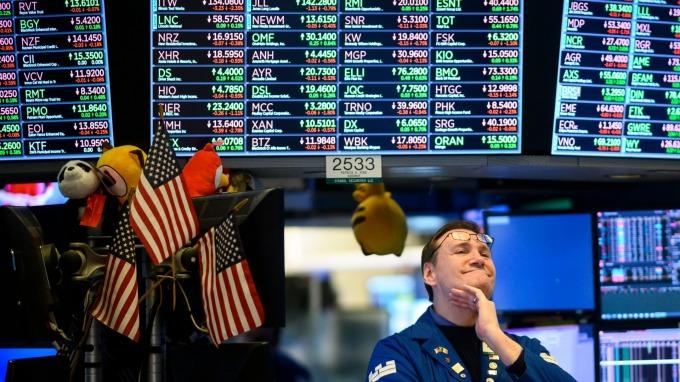 圖:AFP  2019年 美國股市需審慎以對