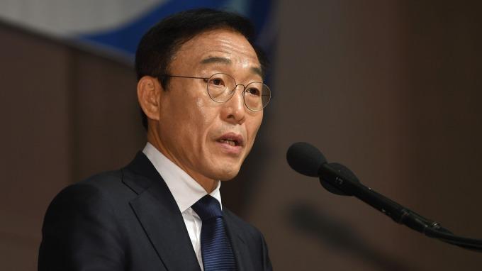 三星電子副總裁金奇南(圖:AFP)