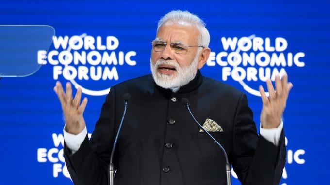 印度總理莫迪。(圖:AFP)