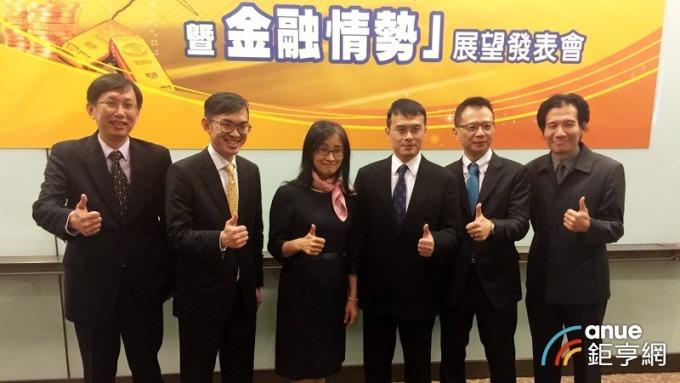 國泰金(2882-TW)今(20)日舉行第一季台灣「經濟氣候暨金融情勢」發表會。(鉅亨網記者陳蕙綾攝)