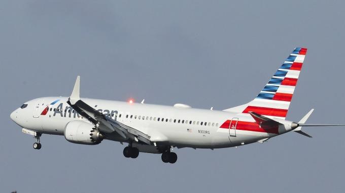 圖:AFP  波音 737 Max客機