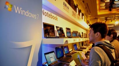 微軟警告Windows 7用戶:安全更新即將結束 (圖: AFP)