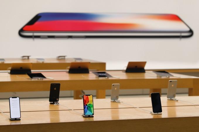 Apple Shock 給全球電子業帶來嚴重影響 (圖:AFP)