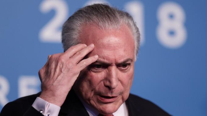 巴西前總統泰梅爾(圖:AFP)