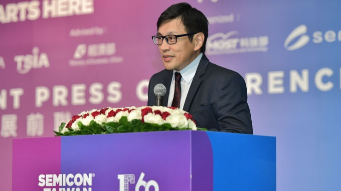 SEMI 台灣區總裁曹世綸。(圖:SEMI提供)