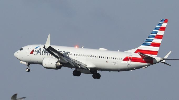 圖: AFP 波音 737 MAX 客機