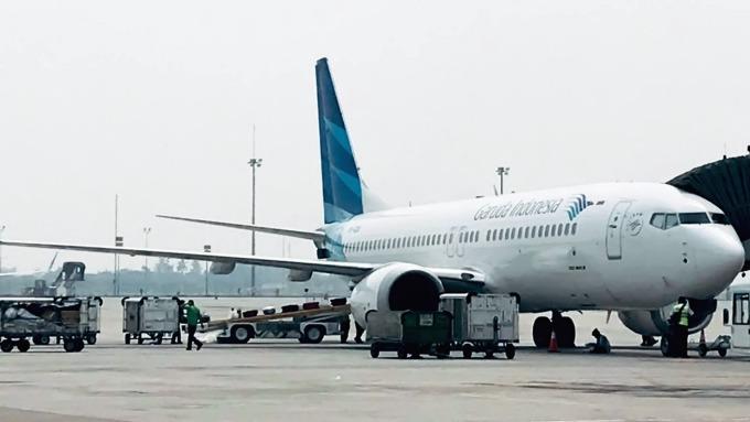 印尼鷹航成為首家取消波音737訂單的航空公司 (圖:AFP)