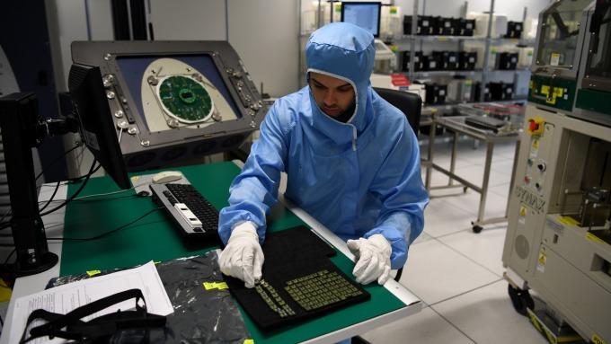 科技產業競爭日益激烈。(圖:AFP)