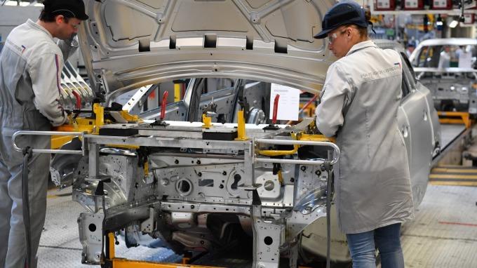 圖:AFP  美國3月製造業轉弱