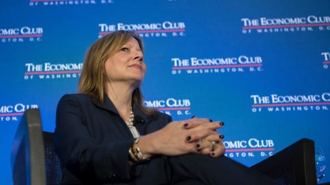 通用汽車 CEO Mary Barra。(圖:AFP)