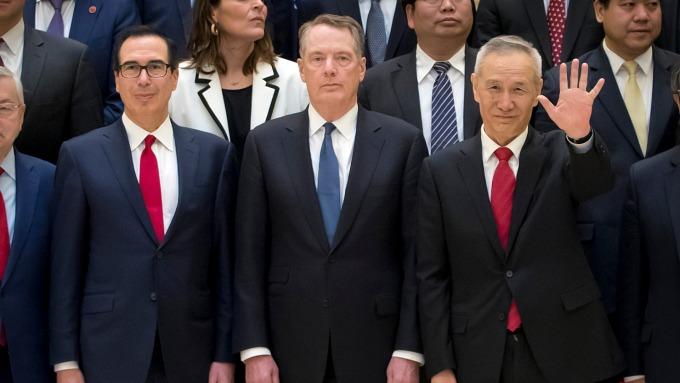新一輪美中高階貿易談判將於3月28日登場。(圖:AFP)