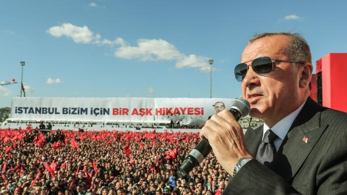土耳其總統厄多安(圖:AFP)