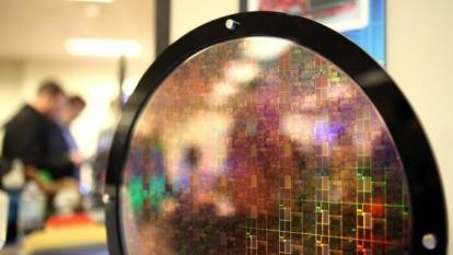 週一美股尾盤前,晶片股空襲全倒。(圖:AFP)