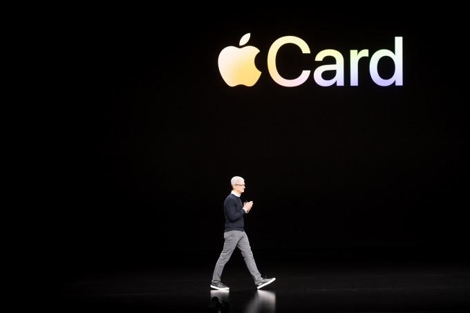 蘋果與高盛聯手推出信用卡服務 Apple Card。(圖:AFP)
