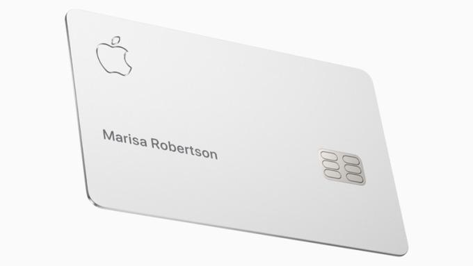 Apple Card。(擷自蘋果官網)