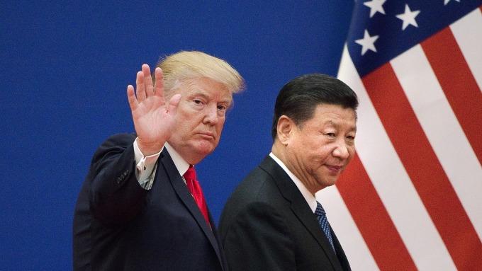 第 8 輪美中高階貿易談判,將於3月28日登場。(圖:AFP)