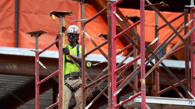 圖:AFP  美國2月新屋開工大幅下降