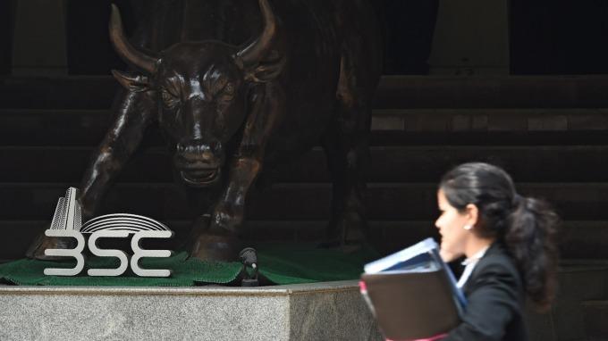 印度股市近來表現紅不讓,成亞股吸金王。(圖:AFP)