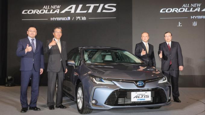 和泰車發表全新大改款Altis。(圖:和泰車提供)