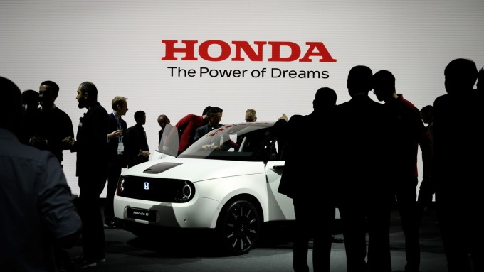 本田、日野將入股豐田和軟銀合資公司 (圖:AFP)