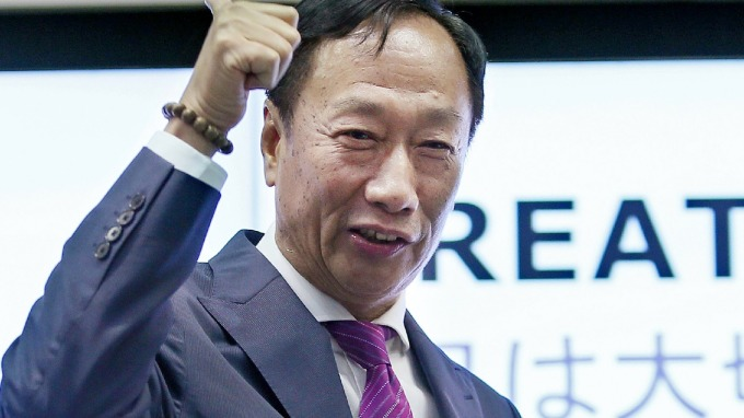 Terry Gou, the founder and chairman of Hon Hai.