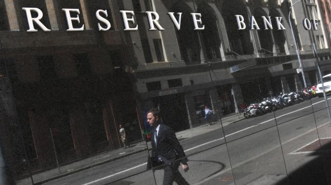 澳洲央行宣布維持利率不變。(圖:AFP)