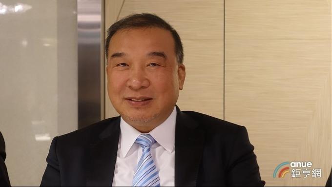 富旺國際董事長林正雄。(鉅亨網記者張欽發攝)