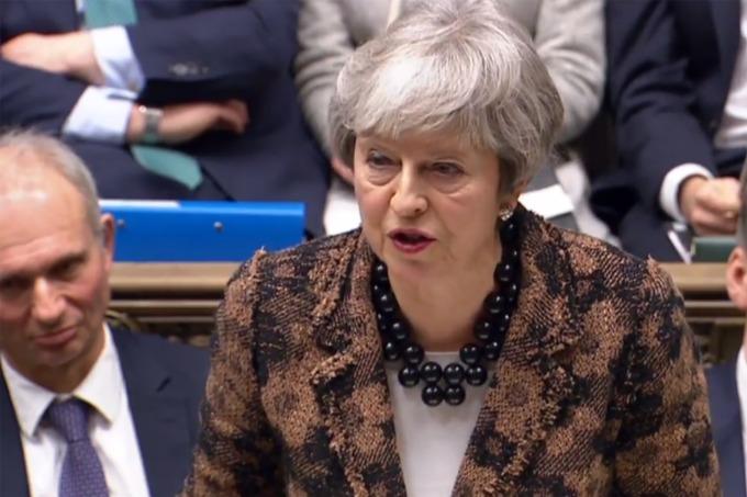 梅伊無法說服議會通過其脫歐版本 (圖: AFP)