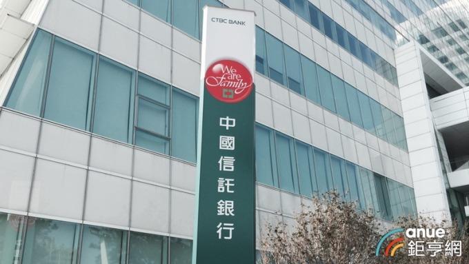 中國信託銀行。(鉅亨網資料照)