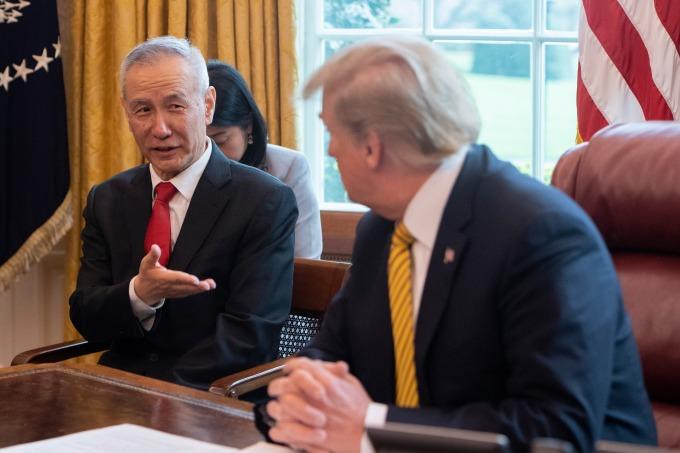 劉鶴稱,美國與中國就貿易問題已經達成新的共識。(圖:AFP)