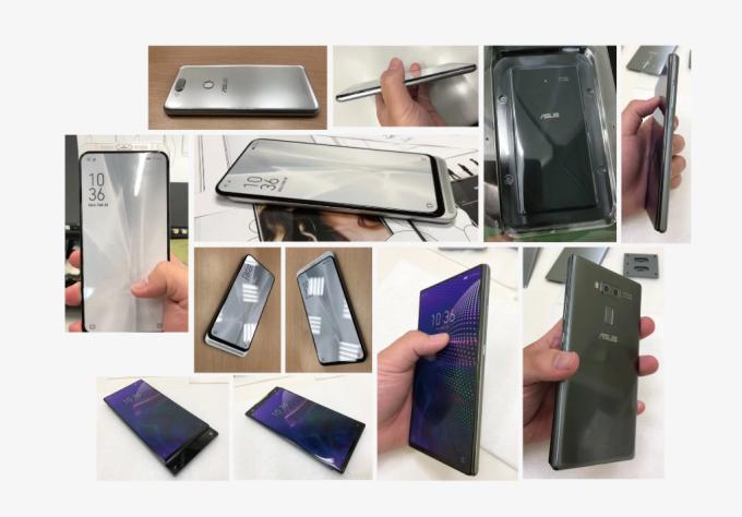 華碩手機模型(圖:)